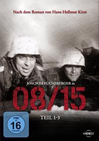 08/15, Teil 1-3 (rekonstruierte Langfassungen) (3 DVDs) (1954)