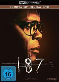 187 - Eine tödliche Zahl (Limited Mediabook, 4K Ultra HD Blu-ray+Blu-ray+DVD) (1997) [Blu-ray]