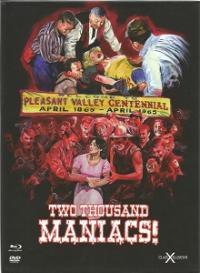 2000 Maniacs - Das Original! (Limited Mediabook, Blu-ray+DVD) (1964) [FSK 18] [Blu-ray]