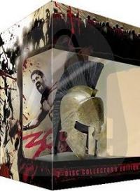 300 (2-DVD Collectors Edition in Sonderverpackung mit Helm + 32 seitigem Buch und Sammelkarten - streng limitiert) (2006)
