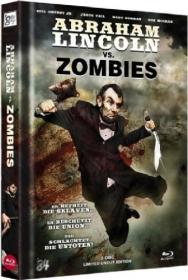 Abraham Lincoln vs. Zombies - Uncut (Limited 3D Blu-ray + DVD Mediabook Edition) (2012) [FSK 18] [3D Blu-ray]