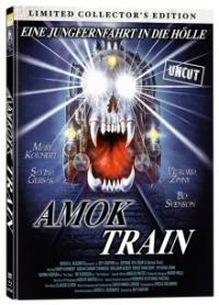 Amok Train (Limited Mediabook, Blu-ray+DVD, Cover A) (1989) [FSK 18] [Blu-ray]