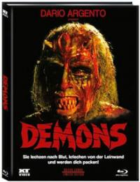 Dämonen 2 - Dance of the Demons 1 (Limited Mediabook, Blu-ray+DVD, Cover B) (1985) [FSK 18] [Blu-ray]