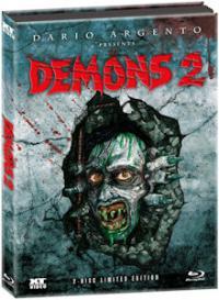 Dämonen - Dance of the Demons 2 (Limited Mediabook, Blu-ray+DVD) (1986) [FSK 18] [Blu-ray]
