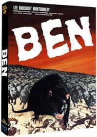 Ben - Aufstand der Ratten (Limited Mediabook, Cover A) (1972) [Blu-ray]