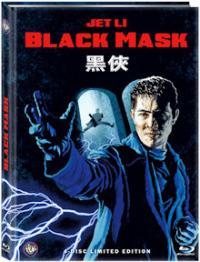 Black Mask (Limited Wattiertes 4 Disc Mediabook, 2 Blu-ray's+2 DVDs, 4 Schnittfassungen) (1996) [FSK 18] [Blu-ray]