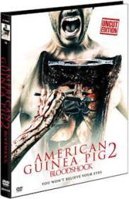 American Guinea Pig 2 - Bloodshock (Limited Mediabook, Cover D) (2015) [FSK 18]