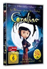 Coraline (Collector's Edition, 2 DVDs, inkl. 3D Version mit Brillen) (2009)