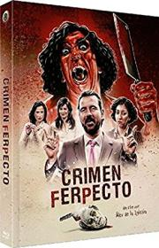 Crimen Ferpecto - Ein ferpektes Verbrechen (Limited Mediabook, Blu-ray+CD, Cover A) (2004) [Blu-ray]