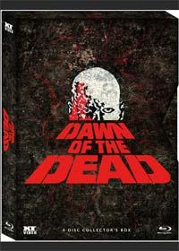 Dawn Of The Dead (4 Discs Collector's Box mit 4 Schnittfassungen, Digipak im Schuber) (1978) [FSK 18] [Blu-ray]