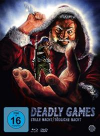 Deadly Games - Stille Nacht, tödliche Nacht (3 Disc Limited Digipak, Blu-ray+2 DVDs) (1989) [Blu-ray]