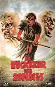 Die Rückkehr der Zombies (Große Hartbox, Limitiert auf 666 Stück, Cover A) (1980) [FSK 18]