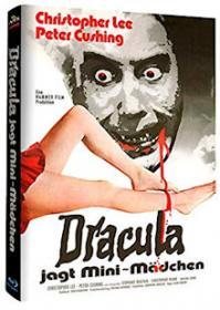 Dracula jagt Mini-Mädchen (Limited Mediabook, Cover A) (1972) [Blu-ray]