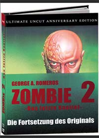 Day of the Dead (Limited Mediabook, Blu-ray+DVD+2 CDs) (1985) [FSK 18] [Blu-ray]