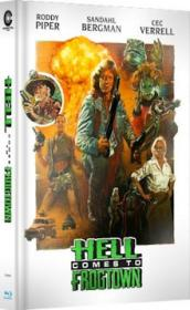 Hell Comes to Frogtown (Limited Mediabook, Blu-ray+DVD, Cover B) (1988) [Blu-ray]
