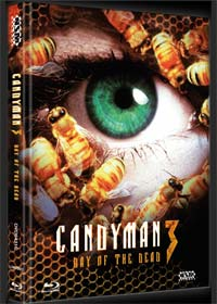 Candyman 3 - Day of the Dead (Limited Mediabook, Blu-ray+DVD, Cover C) (1999) [FSK 18] [Blu-ray]