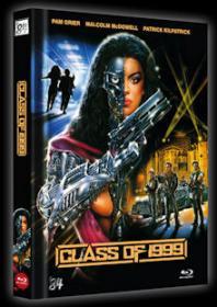 Die Klasse von 1999 (Limited Mediabook, Blu-ray+DVD, Cover C) (1990) [FSK 18] [Blu-ray]