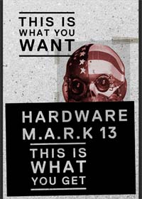 M.A.R.K. 13 - Hardware (Limited Collector's Edition, Blu-ray+2 DVDs+CD) (1990) [FSK 18] [Blu-ray]
