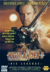 Highlander 3 - Die Legende (1994) [Gebraucht - Zustand (Sehr Gut)]