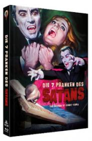 Die 7 Pranken des Satans (Limited Mediabook, Blu-ray+DVD, Cover B) (1971) [Blu-ray]