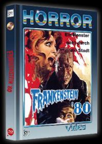 Frankenstein 80 (Limited Mediabook, Blu-ray+DVD, Cover B) (1972) [FSK 18] [Blu-ray]
