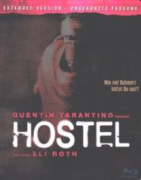 Hostel (Extended Version-Uncut) (Steelbook) (2005) [FSK 18] [Blu-ray]
