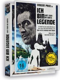 Ich bin Legende - The Last Man on Earth (Limited Mediabook, Blu-ray+DVD+CD-Soundtrack, inkl. Farbfassung) (1964) [Blu-ray]
