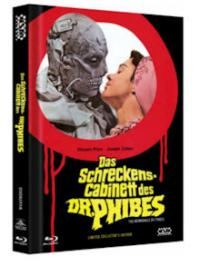 Das Schreckenskabinett des Dr. Phibes (Limited Mediabook, Blu-ray+DVD, Cover A) (1971) [Blu-ray]