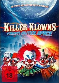 Killer Klowns from outer Space (3 Disc Limited Mediabook, Blu-ray+2 DVDs) (1988) [FSK 18] [Blu-ray]