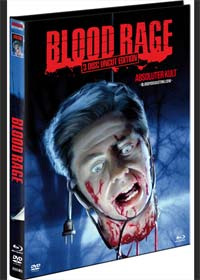 Blood Rage (Limited Mediabook, Blu-ray+2 DVDs, Cover B) (1987) [FSK 18] [Blu-ray]