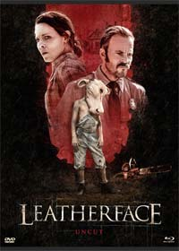 Leatherface (Limited Mediabook, Blu-ray+DVD, Cover A) (2017) [FSK 18] [Blu-ray]