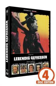 Lebendig Gefressen (Limited Mediabook, Blu-ray+2 DVDs+CD, Cover B) (1980) [FSK 18] [Blu-ray]