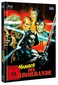 Neon Maniacs - Die Horrorbande (Limited Mediabook, Blu-ray+DVD, Cover A) (1986) [FSK 18] [Blu-ray]