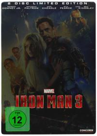 Iron Man 3 (2 DVDs Limited Edition, Steelbook) (2013)