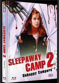 Das Camp des Grauens 2 - Sleepaway Camp 2 (Limited Mediabook, Blu-ray+DVD, Cover C) (1988) [FSK 18] [Blu-ray]