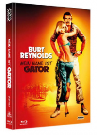 Mein Name ist Gator (Limited Mediabook, Blu-ray+DVD, Cover A) (1976) [Blu-ray]
