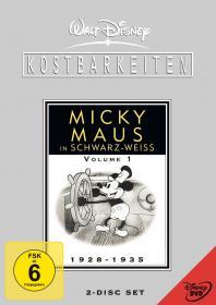 Walt Disney Kostbarkeiten - Micky Maus in schwarz-weiß - Volume 1: 1928-1935 (2 DVDs)