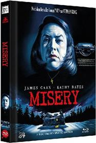 Misery (Limited Mediabook, Blu-ray+DVD, Cover A) (1990) [Blu-ray]