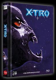X-Tro - Nicht alle Außerirdischen sind freundlich (Limited Mediabook, Blu-ray+DVD, Cover C) (1982) [Blu-ray]