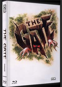 The Gate - Das Tor zur Hölle (Limited Mediabook, Blu-ray+DVD, Cover B) (1987) [Blu-ray]