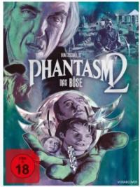 Phantasm 2  - Das Böse kehrt zurück (Limited Mediabook, Blu-ray+2 DVDs, Cover A) (1988) [FSK 18] [Blu-ray]