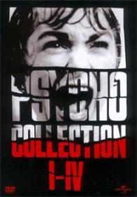 Psycho Collection I-IV (4 DVDs)