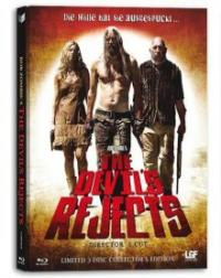 The Devil's Rejects (Limited Uncut Mediabook, Blu-ray + 2 DVDs, Cover B) (2005) [FSK 18] [Blu-ray]