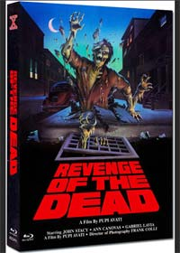 Zeder - Denn Tote kehren wieder (Limited Mediabook, Cover B) (1983) [FSK 18] [Blu-ray]