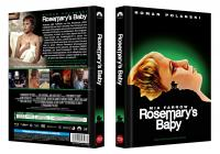 Rosemary's Baby (Limited Mediabook, Blu-ray+DVD, Cover A) (1968) [Blu-ray]