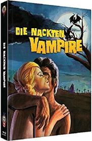 Die nackten Vampire (Limited Mediabook, Blu-ray+DVD, Cover B) (1970) [Blu-ray]