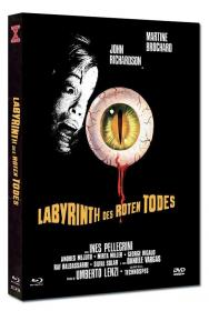 Labyrinth des roten Todes (Limited Mediabook, Blu-ray+DVD, Cover C) (1975) [FSK 18] [Blu-ray]