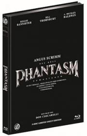Phantasm (3 Disc Limited Mediabook, Blu-ray+2 DVDs, Cover B) (1979) [FSK 18] [Blu-ray]