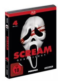 Scream Quadrilogy (4 Discs) [Blu-ray]