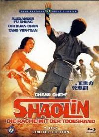 Shaolin - Die Rache mit der Todeshand (Limited Uncut Mediabook, Blu-ray+DVD) (1976) [FSK 18] [Blu-ray]